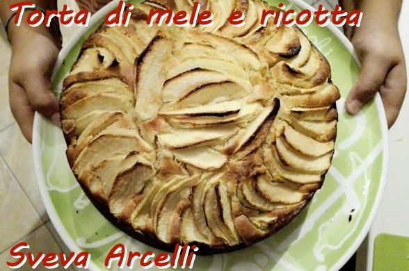 Torta di mele e ricotta - Sveva Arcelli - mod