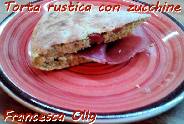 Torta rustica con zucchine Francesca Olly - mod