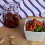 Pesto di pomodori secchi e ricotta