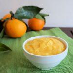 Crema pasticcera all'arancia senza latte