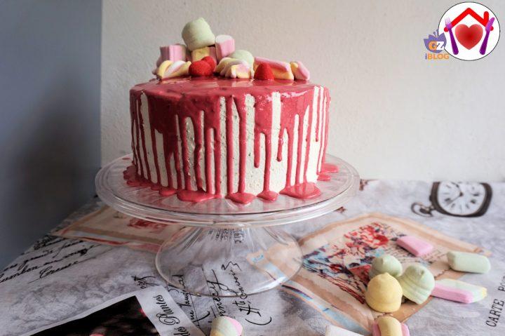 drip cake all'arancia