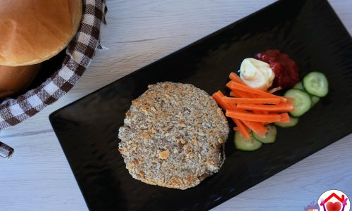 Hamburger di champignon e cannellini