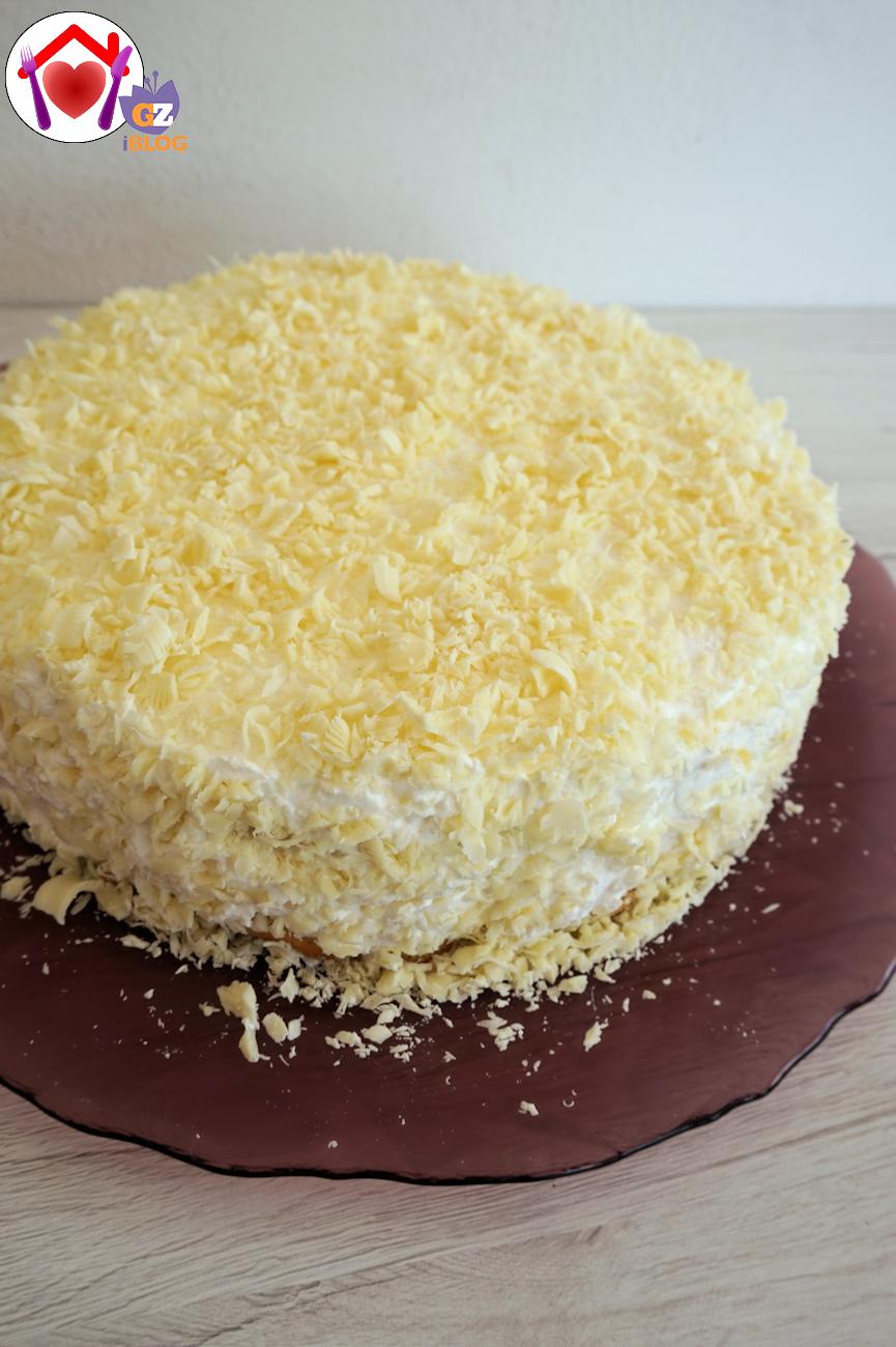 Torta tartufo bianco ricetta ed ingredienti dei for Nuove ricette dolci