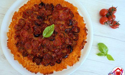 Pizza di riso estiva