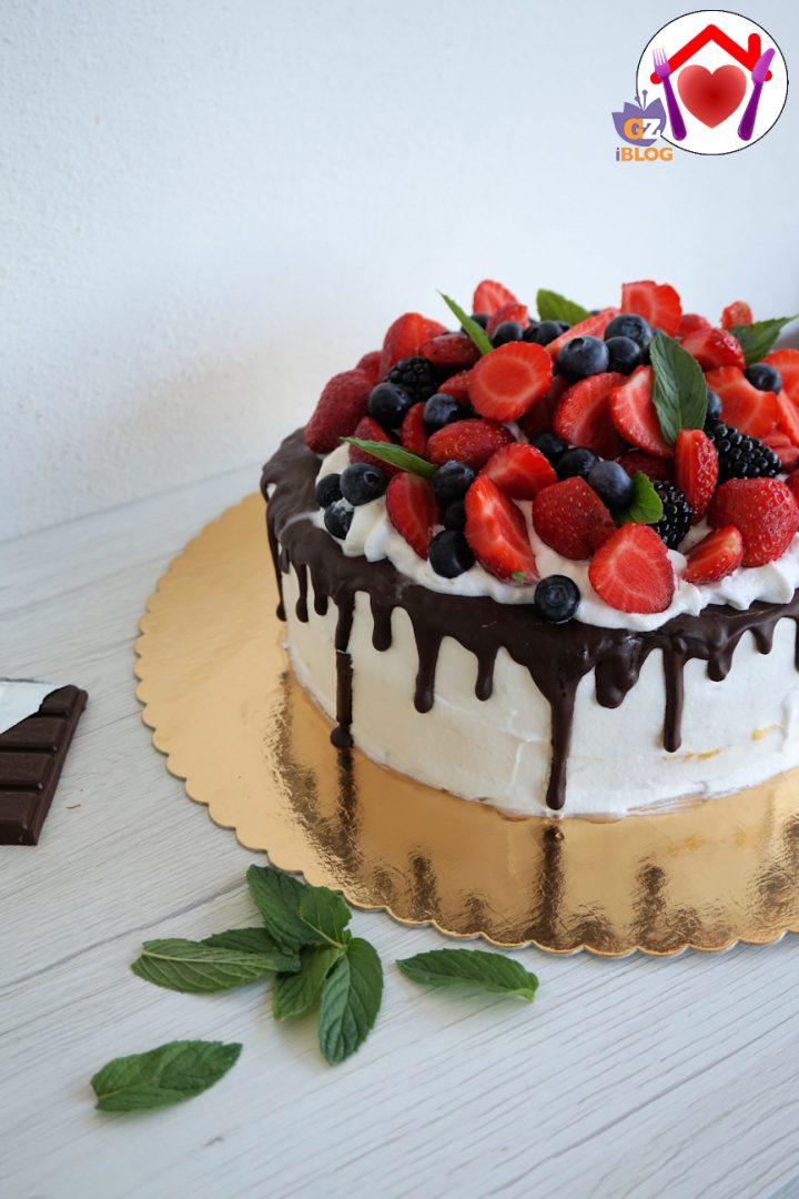 drip cake senza glutine