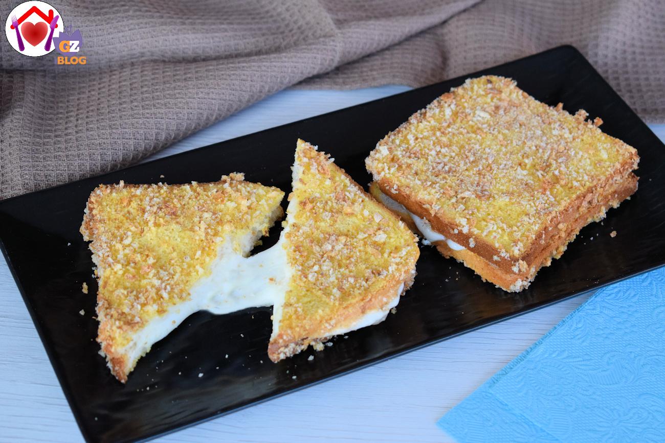 Mozzarella in carrozza al forno ricetta ed ingredienti for Ricette mozzarella in carrozza al forno