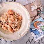 Risotto gamberi e calamari