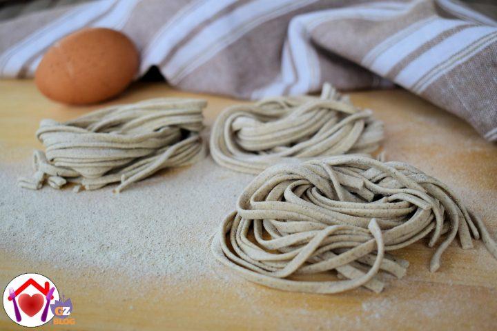 Pasta fresca all'uovo al grano saraceno