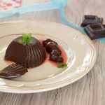 Budino vegano al cioccolato