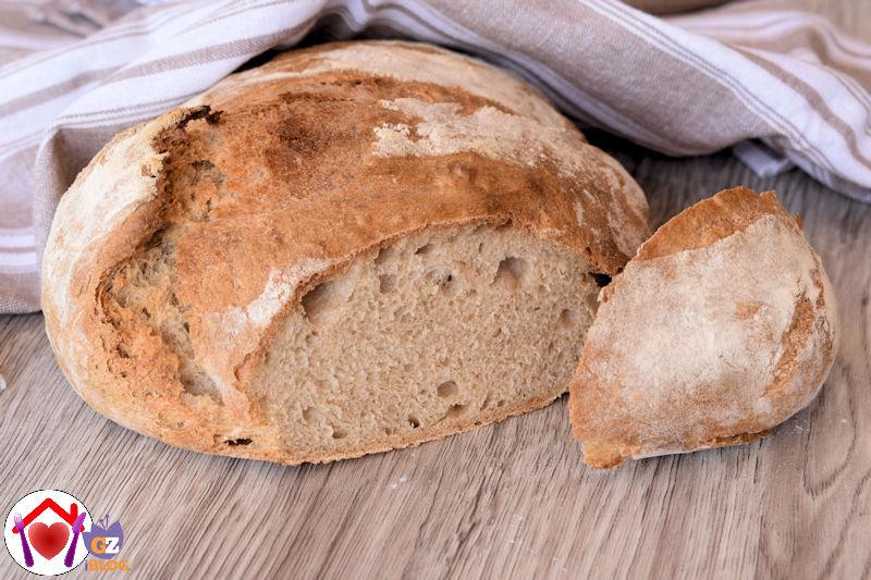 pane fatto con 1g di lievito di birra