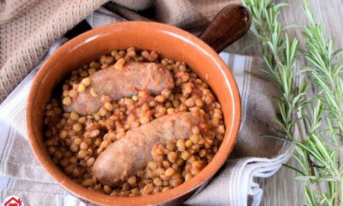 Salsicce e lenticchie