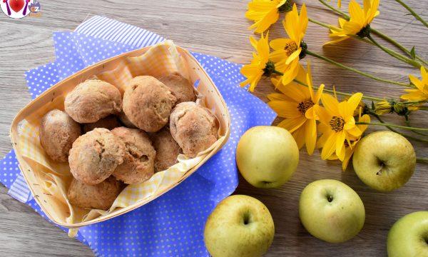 Biscotti morbidi alle mele (Ricetta Vegana)
