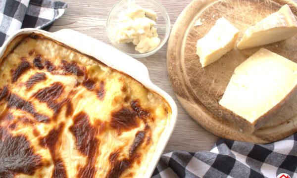 Lasagne con salsa ai 4 formaggi