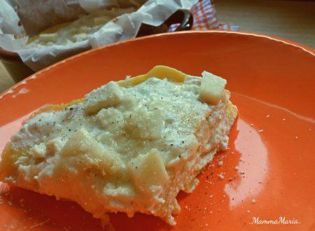 torta di crespelle ai formaggi