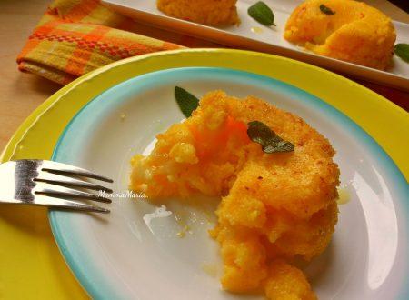 schisòla – tortino di polenta e taleggio