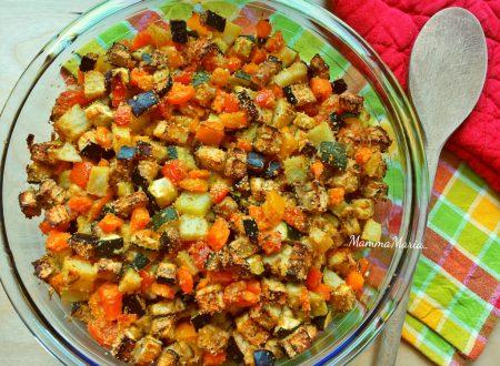 dadolata di verdure al forno