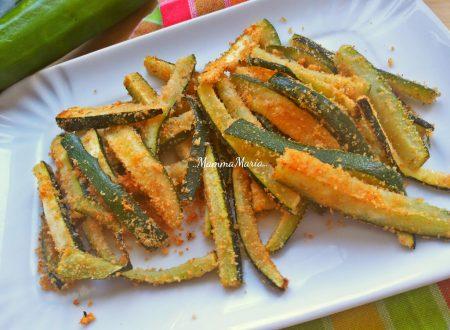 bastoncini di zucchine croccanti al forno