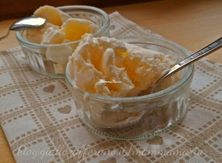 gelato alla panna senza gelatiera