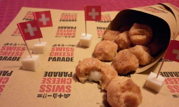 Polpettine di zucca e patate con cuore morbido di sbrinz
