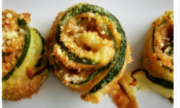 Involtini di zucchine con sale alla menta