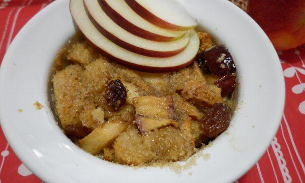 Crema alla cannella con mela