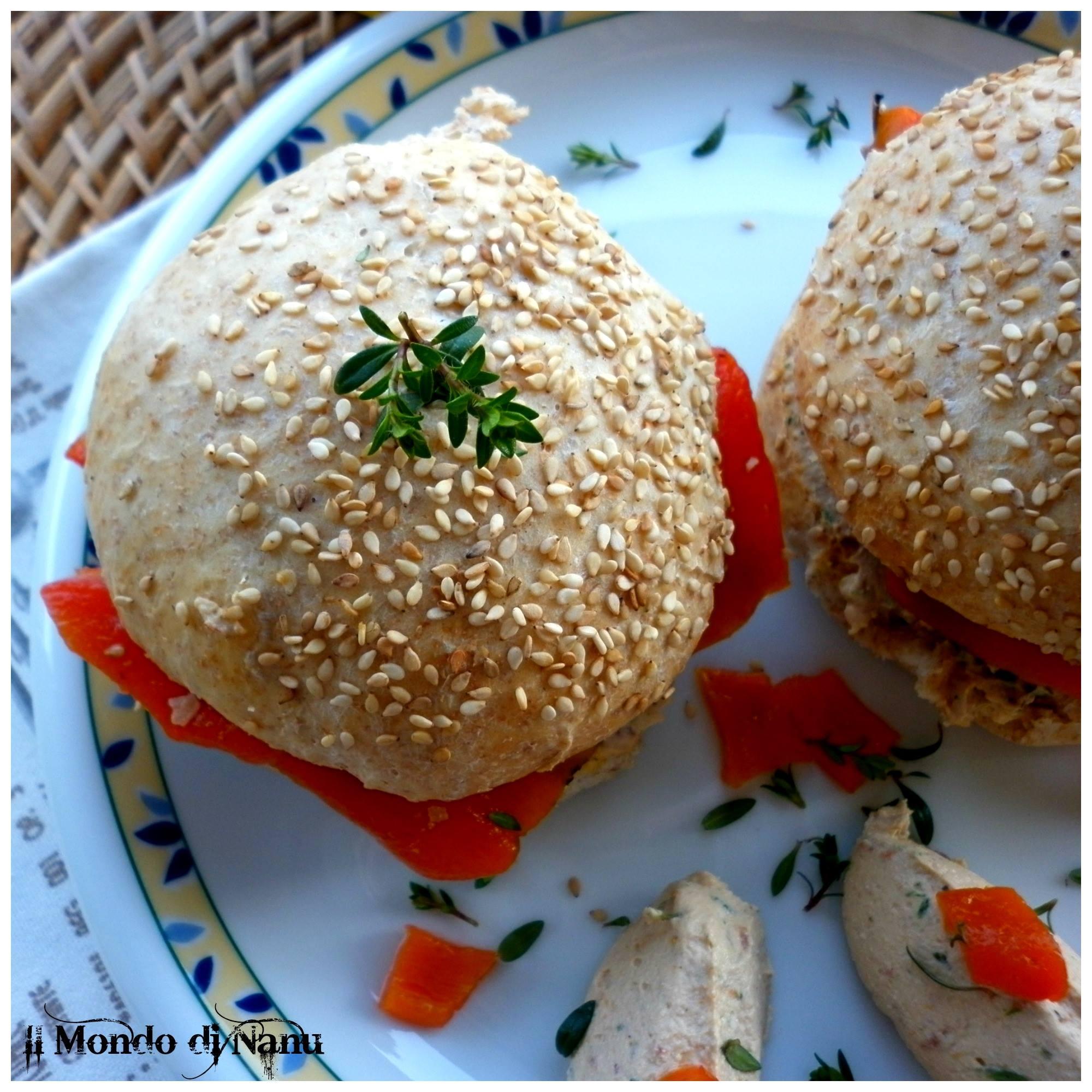 Eccezionale Panini vegetariani e vegani PH12