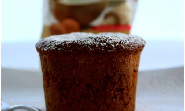 Muffin con sciroppo alla fragola gluten free