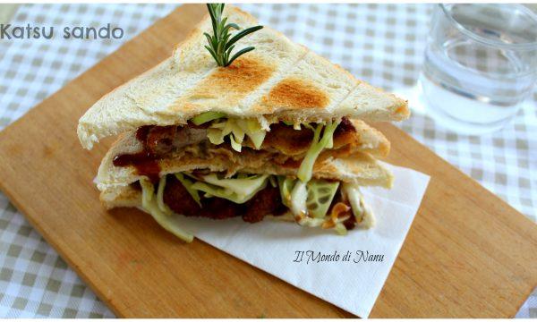 Katsu sando sandwich con cotoletta