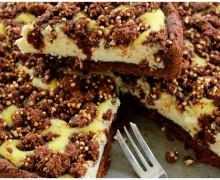 Cheesecake con crumble di quinoa
