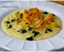 Crema di pastinaca al curry