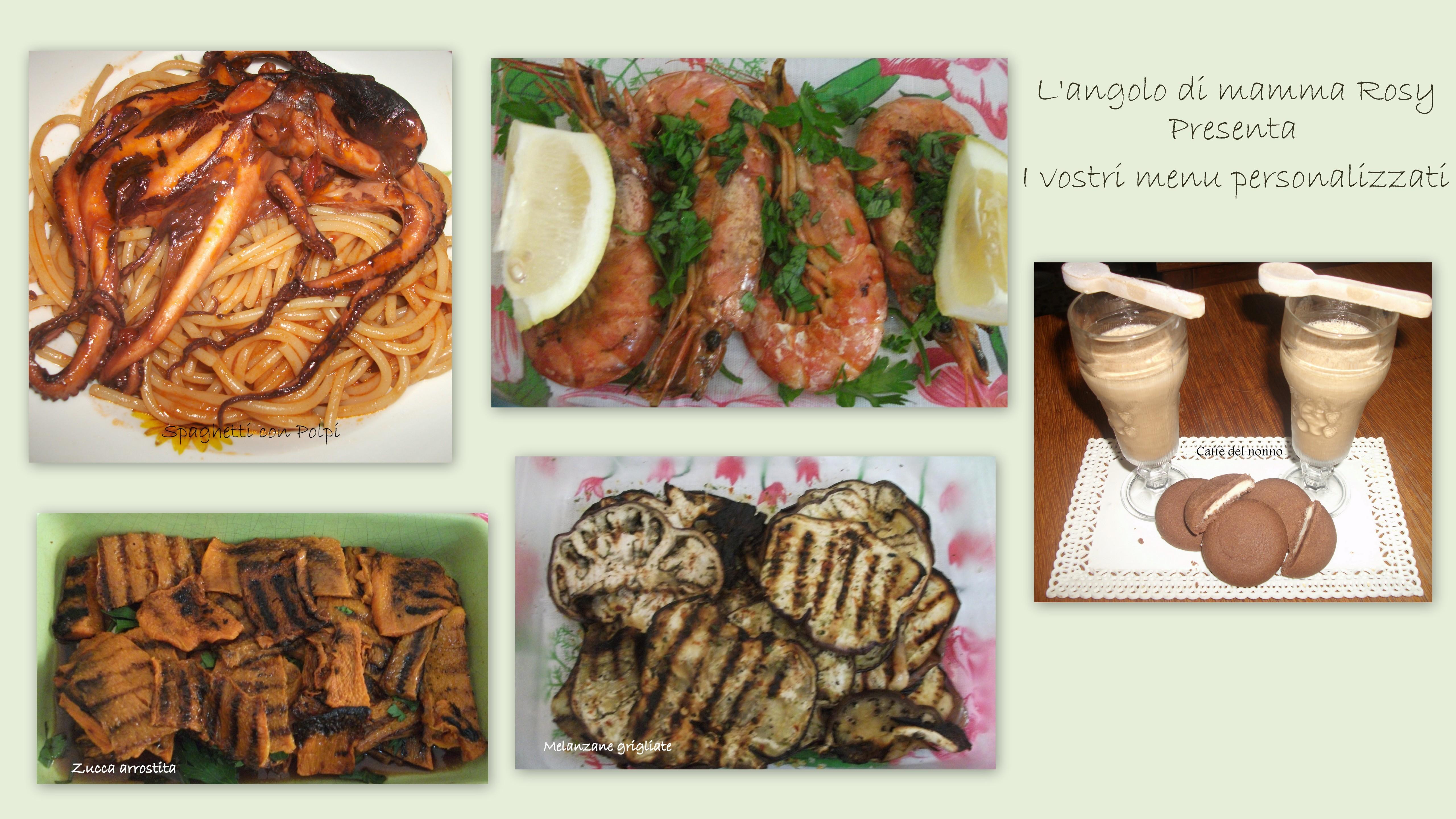collage  menu
