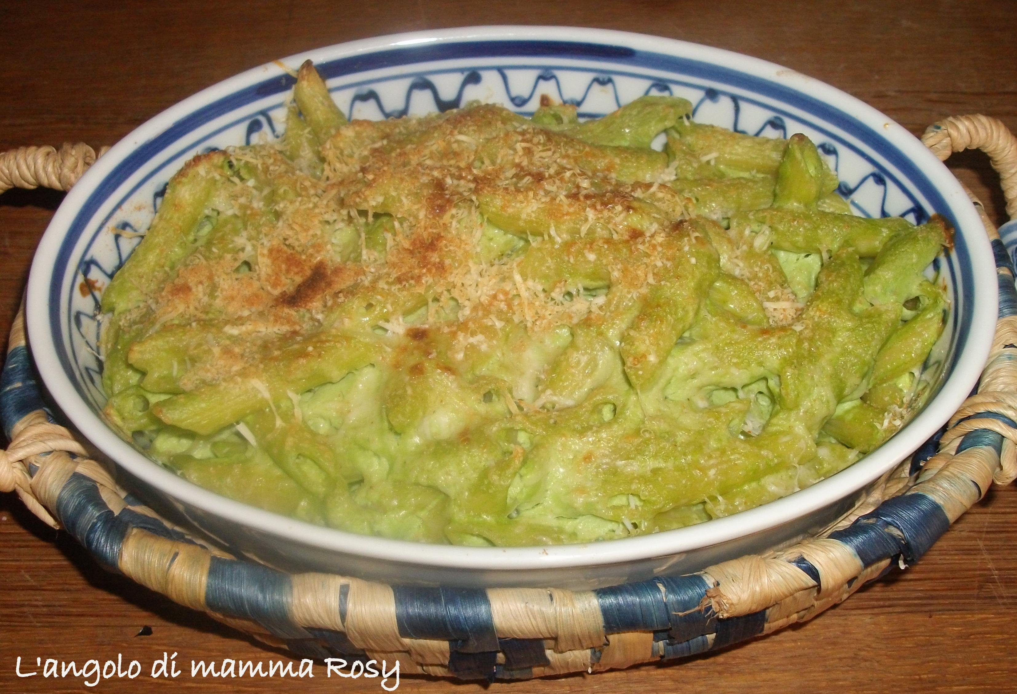 Pennette broccoli e formaggio