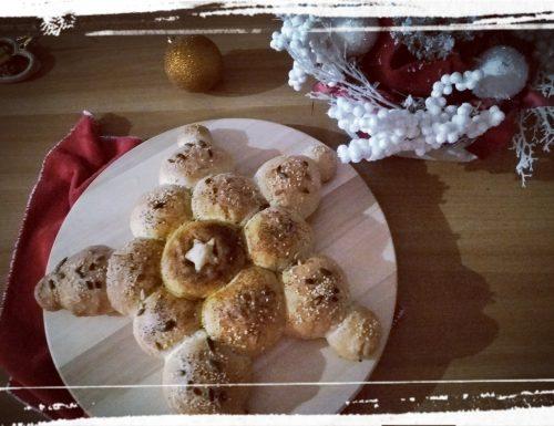 Stella di pane di Natale