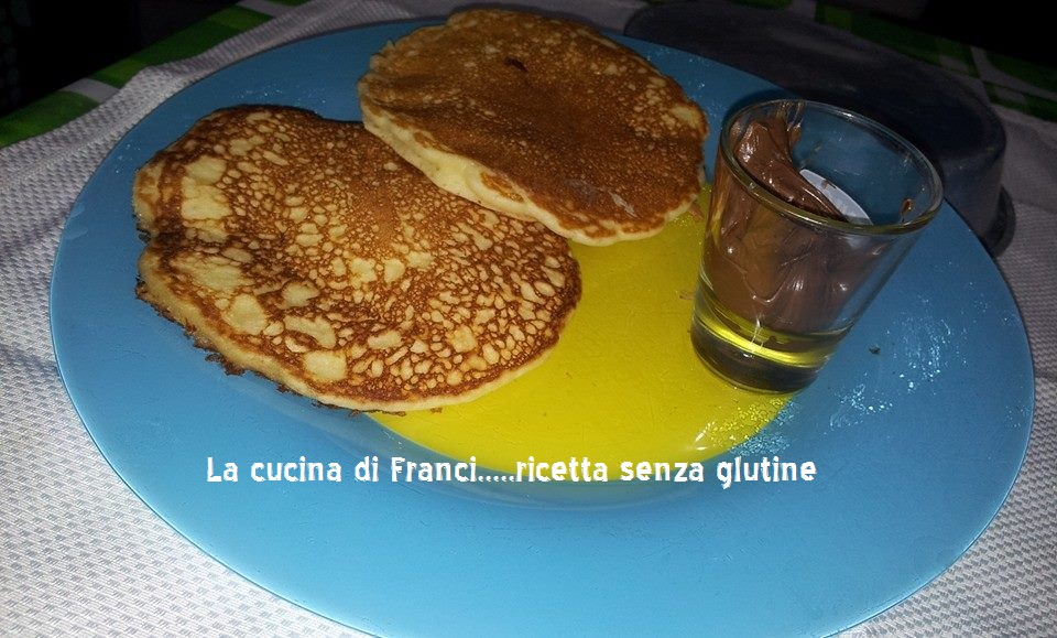 pancake ricetta giallo zafferano