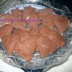 Biscotti al cioccolato  sg ripieni di marmellata di fragole