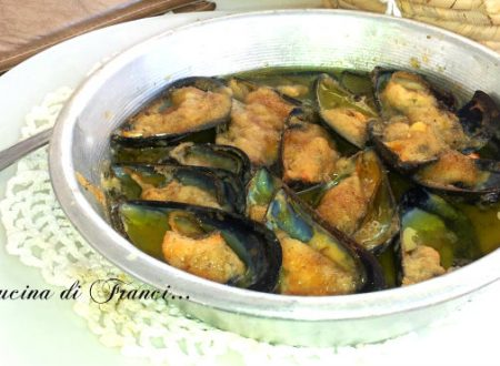 Cozze gratinate  (senza glutine)