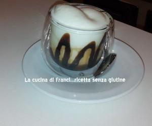 Cheesecake destrutturata al cioccolato senza glutine