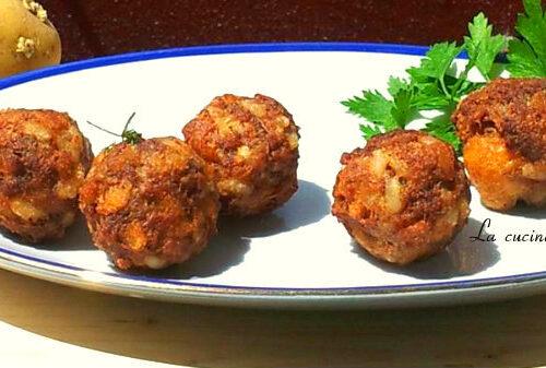 Polpette riso,carne e patate senza glutine