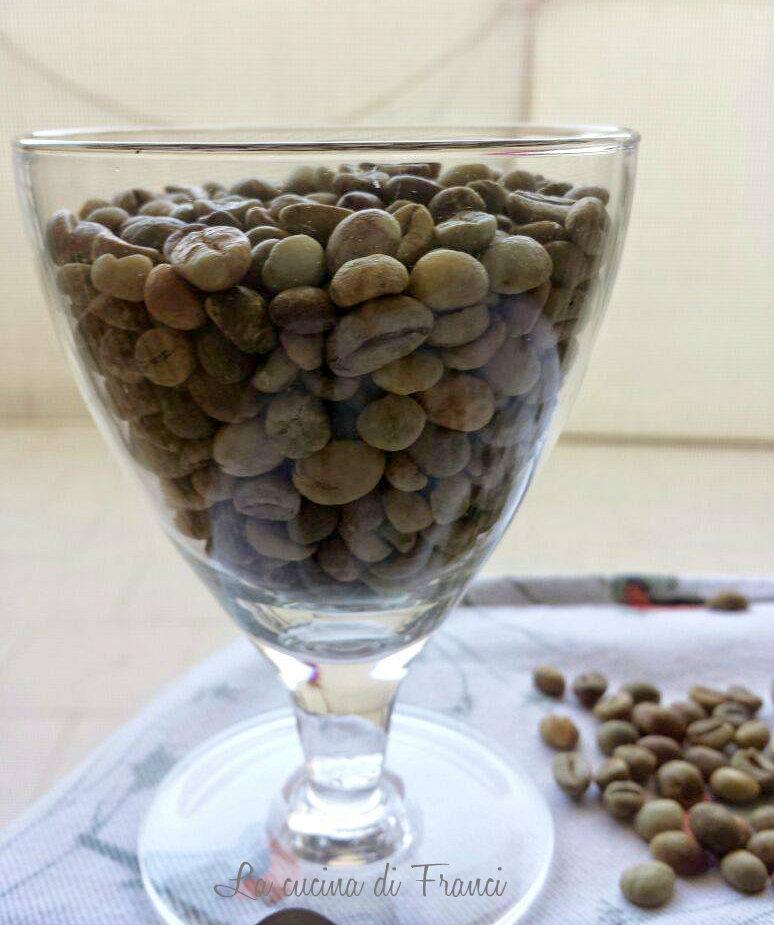 Caffè verde crudo