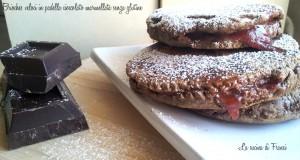 Brioches veloci in padella cioccolato marmellata senza glutine