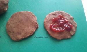 Brioches veloci in padella cioccolato marmellata senza glutine6