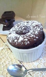 Voglia di torta al cioccolato?questa la prepari in 5 minuti cottura inclusa!!!ricetta microonde