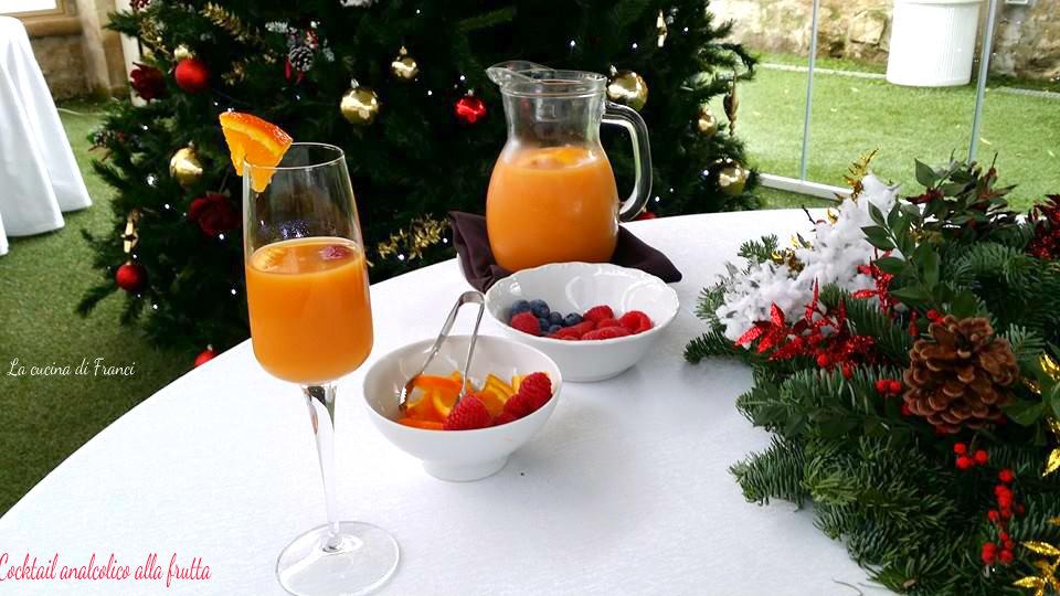 Cocktail analcolico alla frutta 2