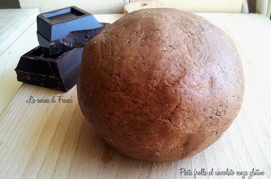 Pasta frolla al cioccolato senza glutine 2