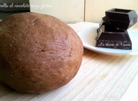 Pasta frolla al cioccolato senza glutine