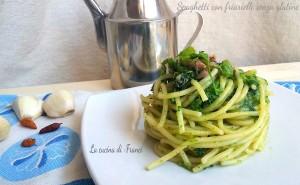 Spaghetti con friarielli senza glutine
