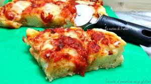 Focaccia al pomodoro senza glutine