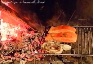 Marinata per salmone alla brace