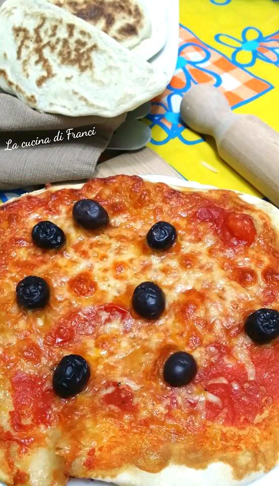 Pizza veloce senza glutine senza lievito 4