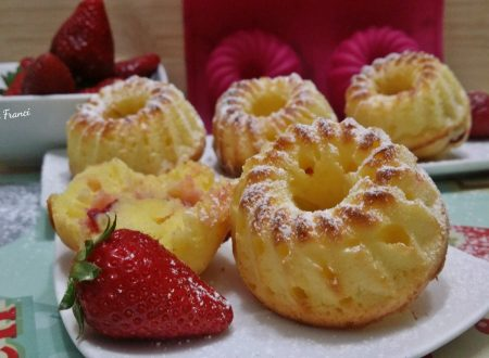 Ciambelline yogurt e fragole senza glutine